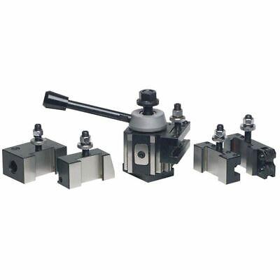 Phase Ii 251-400 6 Pc Piston Qc Tool Post Set-lathe Swing 14-20