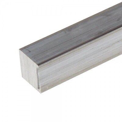 58 .625 Aluminum 6061 Square Bar X 12