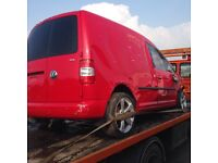 2009 Volkswagen Caddy 1.9 TDI BLS parts