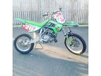 Kawasaki kx 85 motocross bike yz cr 125 250