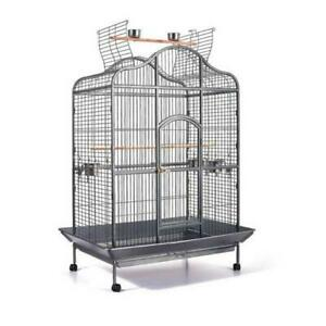 Extra Large Bird Parrot Cage Aviary with Perch