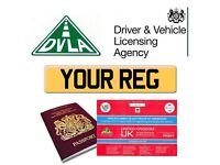 UK PRIVATE NUMBER PLATE REGISTRATIONS - CALL FOR A QUOTE ON OVER 10000+