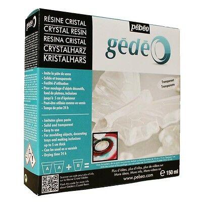 Gedeo Kristallharz 150ml zum gießen von Figuren