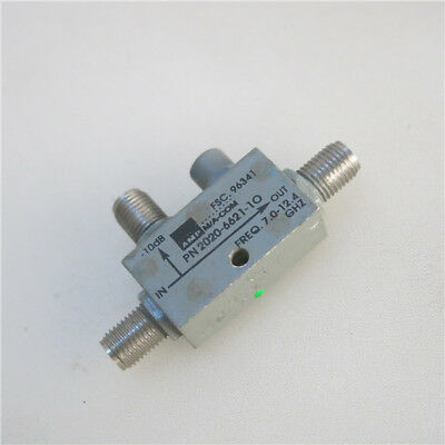1pc M/A-COM 2020-6621-10 7-12.4GHz 10db SMA RF Coaxial Directional Coupler