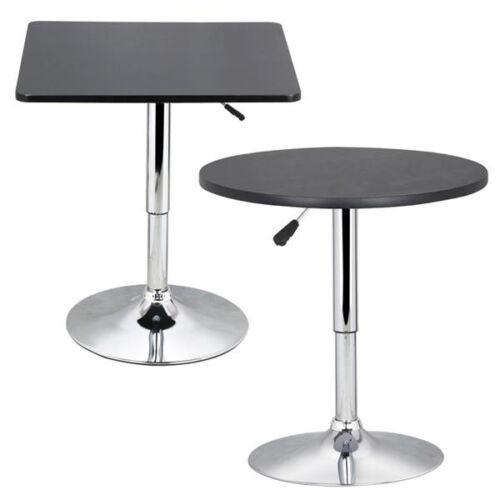 Modern Swivel Counter Height Table Adjustable Pub Bistro Bar
