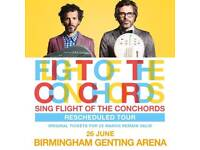 2 flight of the conchords tickets Birmingham Genting arena 26th June