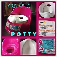I CAN DO IT POTTY!!!! in PINK