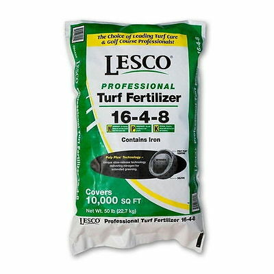 Lesco Professional 16-4-8 fertilizer - 50 Lbs.