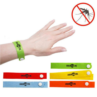 40 X Pulsera Antimosquitos Avispas Abejas Hornet Mosquitos 100% Natural Nuevo