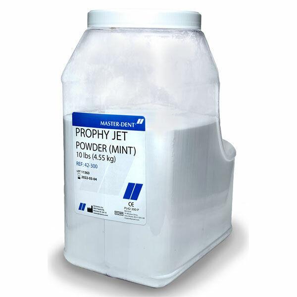Dentonics 42-300 Master-Dent Prophy Jet Cleaning Powder Mint 10 Lb