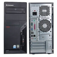Lenovo Dual Core E8400 3.0Ghz / 4GB Ram/ Windows 7 PC