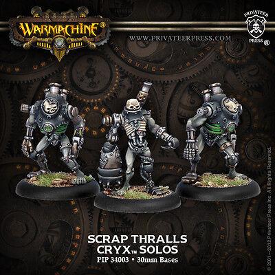 Warmachine: Cryx - Scrap Thralls - Solo PIP 34003 NEW
