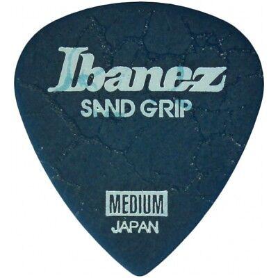 Ibanez Grip Wizard Sand Grip Crack Medium Blue Plek Plektrum Plektren Plektron