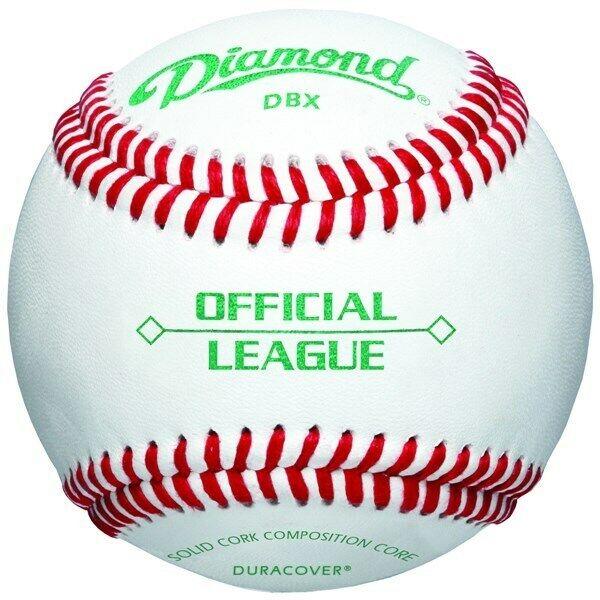Diamond Official League Duracover DBX Baseballs (Dozen) - Good Practice Baseball