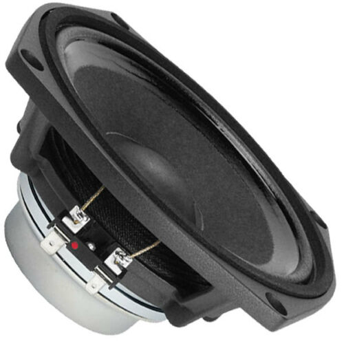 "Faital Pro 6PR122 8ohm Neodymium 6"" 97dB 10KHz Midrange Replacement Speaker"