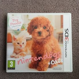 Nintendogs & Cats 3DS Game