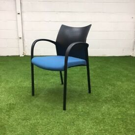 Sky Blue Stacking Chair 6 available