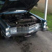 66 Cadillac coupe deville parts
