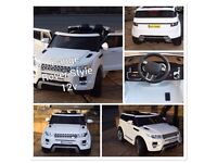 Range Rover HSE Style, 12v, Parental Remote & Self Drive, Free Numberplate,