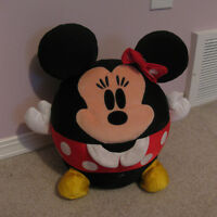 Minnie Mouse Round Fat Plush from Hallmarks