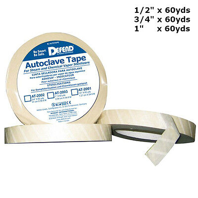 Autoclavable Tape Sterilization Tape At-2001 At-2002 Or At-2003 Free Usa Ship