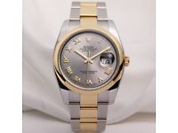ROLEX 116203 DATEJUST UNWORN MENS