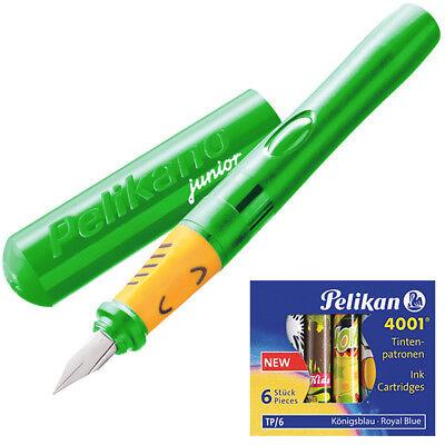 Pelikan Pelikano Füller Junior P67A grün Schulfüller Schreiblernfüller Set