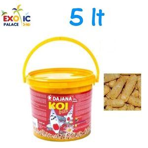 Dajana koi bits 5lt mangime galleggiante in granuli per for Mangime carpe koi