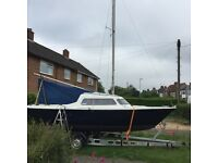 Sailfish 18 trailer sail boat yacht