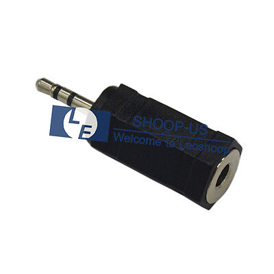 2.5 Mm Headset Adapter - New 2.5mm Male to 3.5mm Female Stereo Audio Headset Headphone Converter Adapter