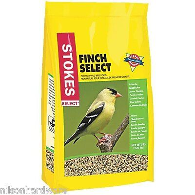 6 Pk Stokes Select 5# Bag Mixed Seed All Finch Songbird Bird Seed Food 9265