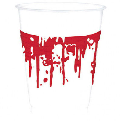 Halloween Der blutverschmierte Party Becher 0,4 L Party - Dekoration Der Party
