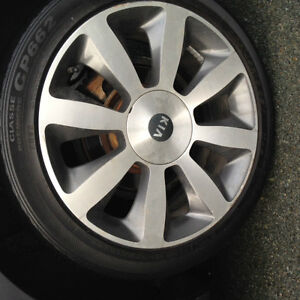 2013 Optima EX alloy rims