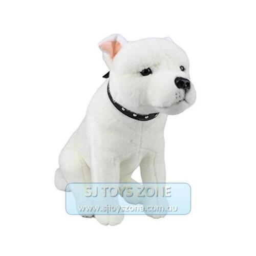 Bocchetta Plush Toys Bull Terrier Staffy Dog 38cm Animal Stu