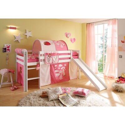 Rutschbett Spielbett Kinderbett Hochbett Kinderzimmer Kiefer Holz massiv B-WARE