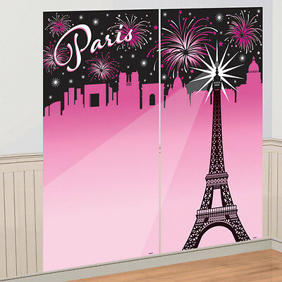 Shabby Chic Paris Eiffel Tower France French Scene Setter Party Decoration