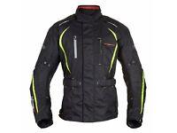 Motorbike Jacket Waterproof ( all protector pockets) Size S/M/L