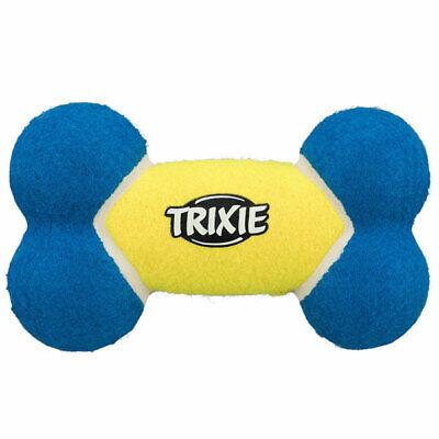 Trixie Tennisknochen Hunde Spielzeug schwimmfähig Gummi Knochen extra robust