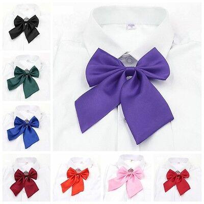 Adjustable Japanese School Girl Uniform Bow Tie Students Cute Bowknot Necktie (Schoolgirl Tie)