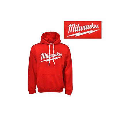 Milwaukee MT368-L Reverse Applique Hooded Sweat Shirt Large