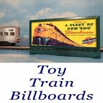 Toy Train Billboards
