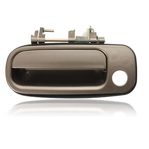 Beige Front Left Driver Side Outer Outside Door Handle For 92-96 Toyota Camry US