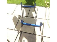 2 small extending pole rollers like new ,