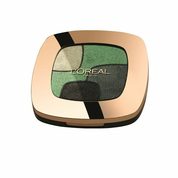 L'Oreal Color Riche Quad Eye Shadow - P3 emerald conquest new sealed