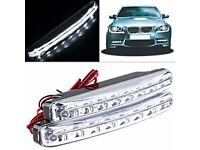 Job Lot of 100 X Light White 12v Daytime LED Running Pack of 2 Car Motorcycle