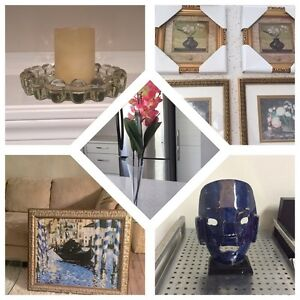 MOVING SALE HOME DECOR VASE PAINTINGS DECORATIONS
