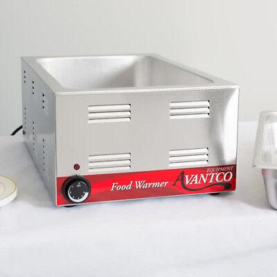 Avantco W50 12 X 20 Full Size Electric Countertop Food Warmer 120v 1200w