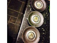 MG ZR ZS alloy wheel centres