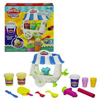 Play-Doh Ice Cream Sundae Cart Real-Looking Whipped Cream
