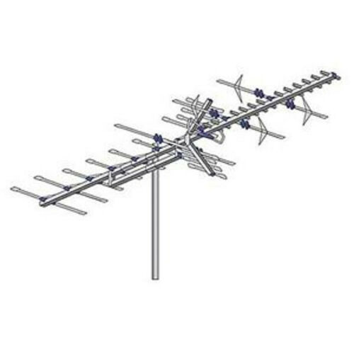 AntennaCraft HBU44 Digital High Band VHF UHF TV Antenna Outdoor 44 Element